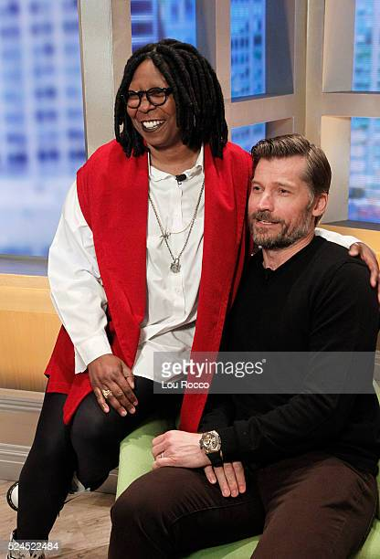 THE VIEW Nikolaj CosterWaldau visits 'THE VIEW' 4/25/16 airing on the ABC Television Network WALDAU