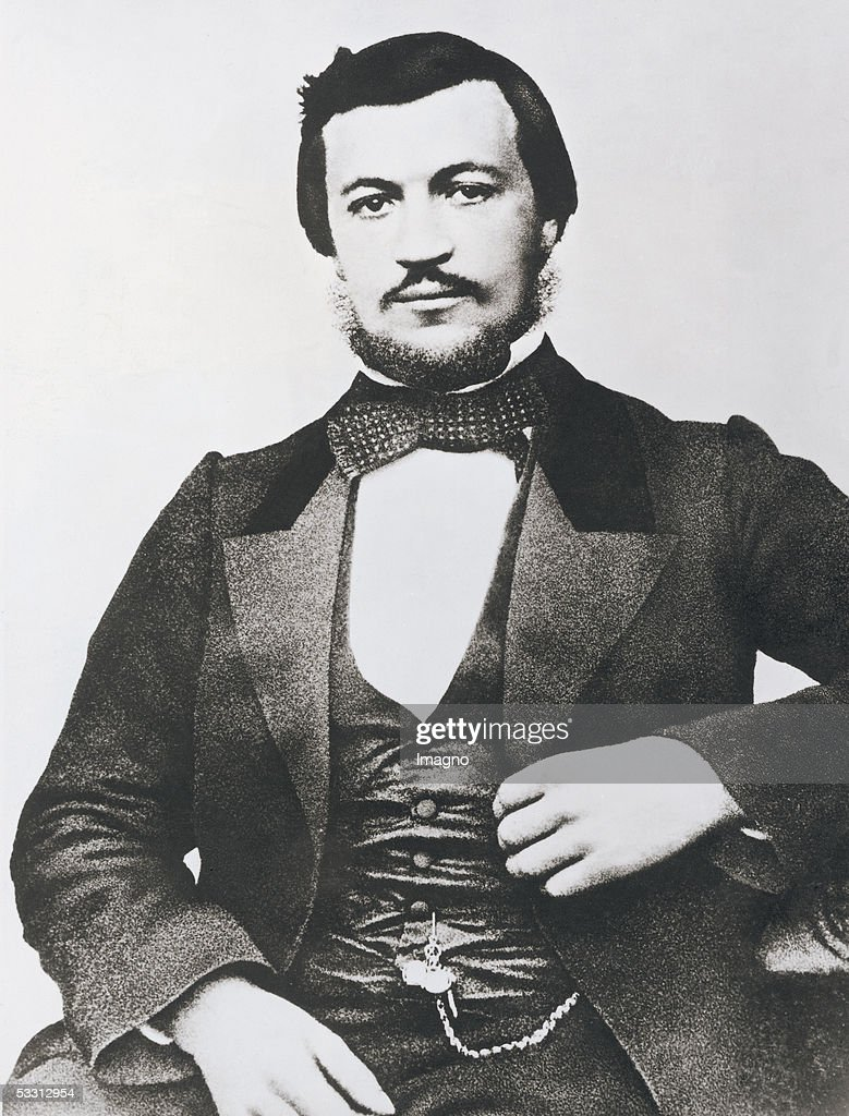Nikolaus August Otto (1832-1891), German inventor of the Otto Engine. Photography, around 1885. (Photo by Imagno/Getty Images) [Nikolaus August Otto (1832-1891), deutscher Erfinder des Otto-Motors. Photographie, um 1885.]