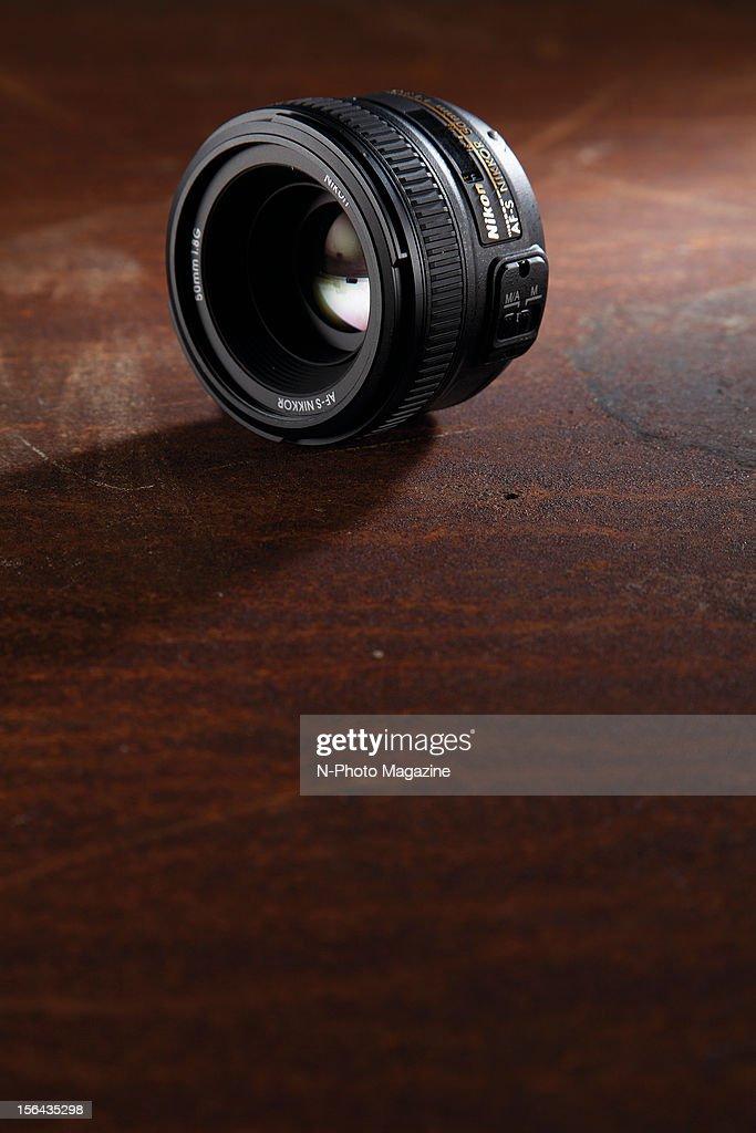 A Nikon 50mm f/1.8G AF-S prime lens, taken on May 10, 2012.