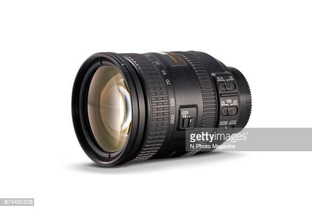 A Nikon AFS DX 18200mm f/3556G ED VR II superzoom camera lens photographed for a feature on travelfriendly lenses taken on April 23 2016