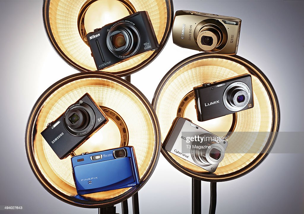 Nikon Coolpix S8100 Canon Ixus 310 HS Panasonic Lumix DMCFS18 Sony CyberShot WX10 Fujifilm Finepix Z900EXR and Samsung SH100 taken on August 5 2011