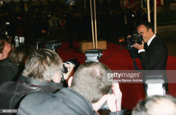 Nikos Aliagas arrives at NRJ Music Awards at the Palais des Festivals on January 23 2010 in Cannes France