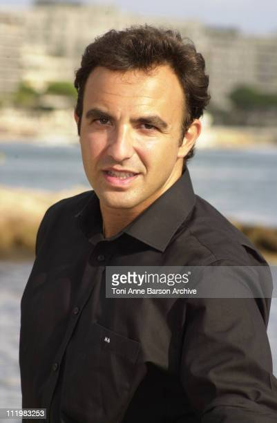 Nikos Aliagas during MIPCOM 2001 Nikos Aliagas Portraits at Cannes Beach in Cannes France