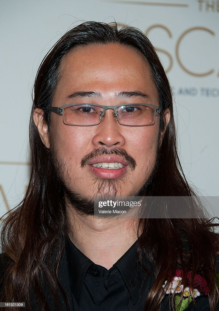 Nikson Fong arrives at the Academy Of Motion Picture Arts And Sciences' Scientific & Technical Awards at Beverly Hills Hotel on February 9, 2013 in Beverly Hills, California.