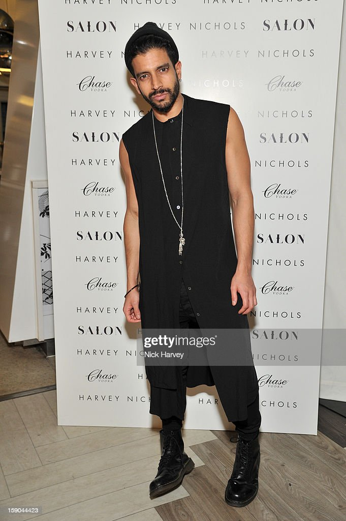 Nikthakkar attends the launch of 1205 Paula Gerbase Hosted By Harvey Nichols ahead of the London Collections: MEN AW13 at on January 6, 2013 in London, England.