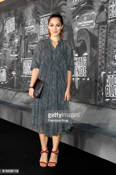 Nilam Farooq attends the 'Atomic Blonde' World Premiere at Stage Theater on July 17 2017 in Berlin Germany