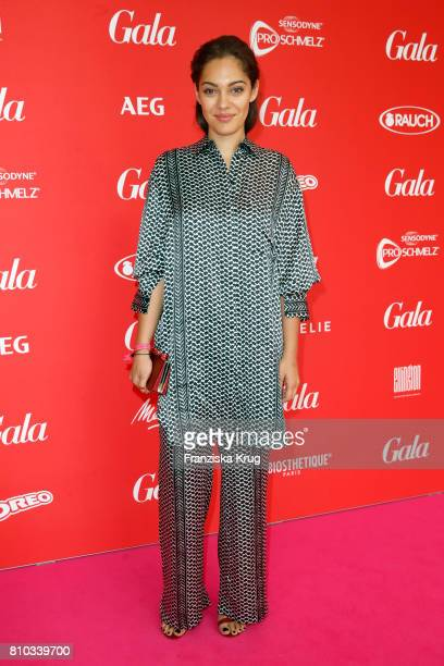 Nilam Farooq attends the Gala Fashion Brunch during the MercedesBenz Fashion Week Berlin Spring/Summer 2018 at Ellington Hotel on July 7 2017 in...