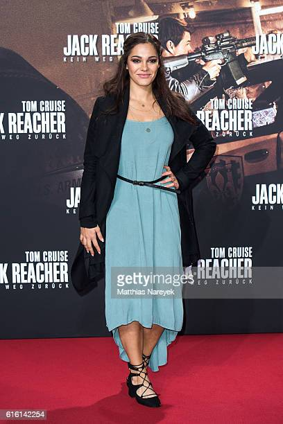 Nilam Farooq attends the 'Jack Reacher Never Go Back' Berlin Premiere at CineStar Sony Center on October 21 2016 in Berlin Germany