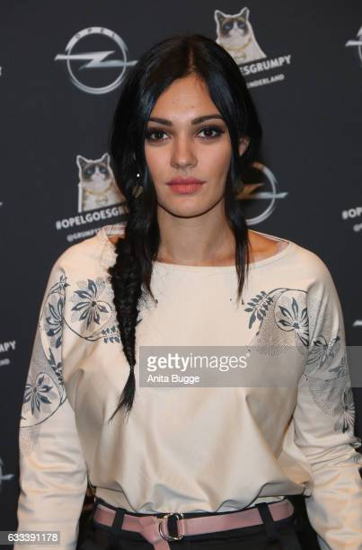 Nilam Farooq attends the 'Presentation of The New Opel Calender 2017' at Kraftwerk Mitte on February 1 2017 in Berlin Germany