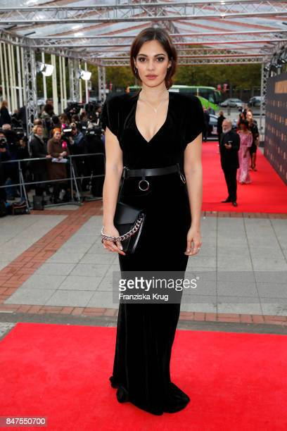 Nilam Farooq attends the UFA 100th anniversary celebration at Palais am Funkturm on September 15 2017 in Berlin Germany