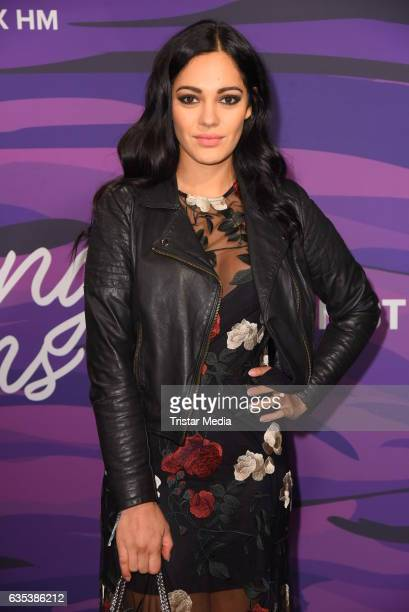 Nilam Farooq attends the Young ICONs Award in cooperation with HM and Tiffany's Co at BRLO Brwhouse on February 14 2017 in Berlin Germany
