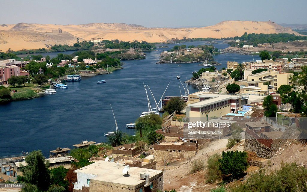 Nile in Aswan (Egypt)