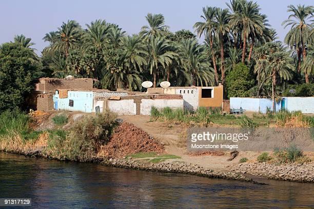 Nile River in Aswan, Egypt