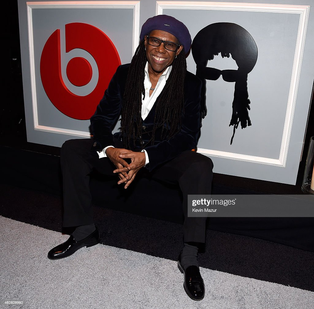 Nile Rodgers attends event for his Recording Academy producers award at Private Residence on February 5 2015 in Beverly Hills California