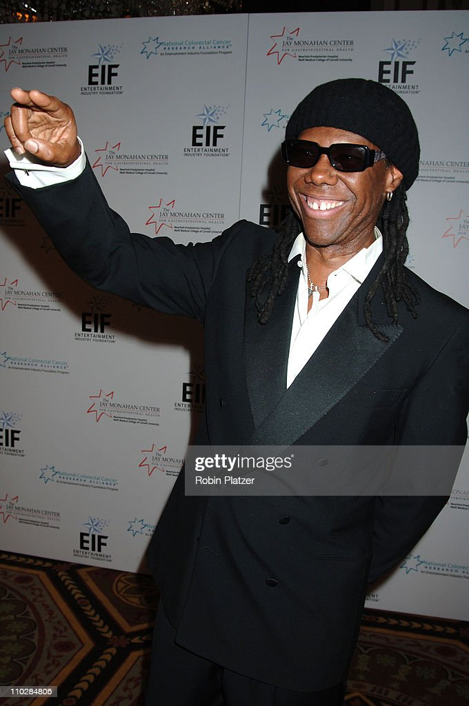 Nile Rodgers during Katie Couric, EIF and NCCRA Present 'Hollywood Meets Motown' Benefit - Arrivals at The Waldorf Astoria Hotel in New York, New York, United States.