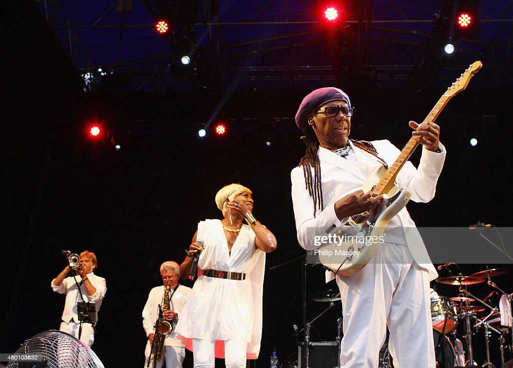 Chic are no strangers to Worthy Farm, you can catch them on Sunday at the Pyramid Stage