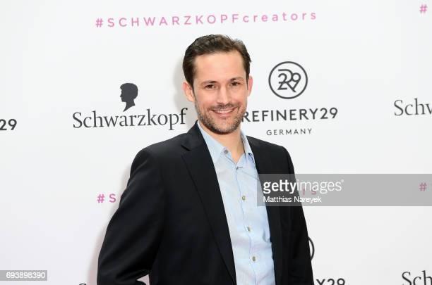 Nils Daecke attends the Schwarzkopf x Refinery29 event at Bar Babette on June 8 2017 in Berlin Germany