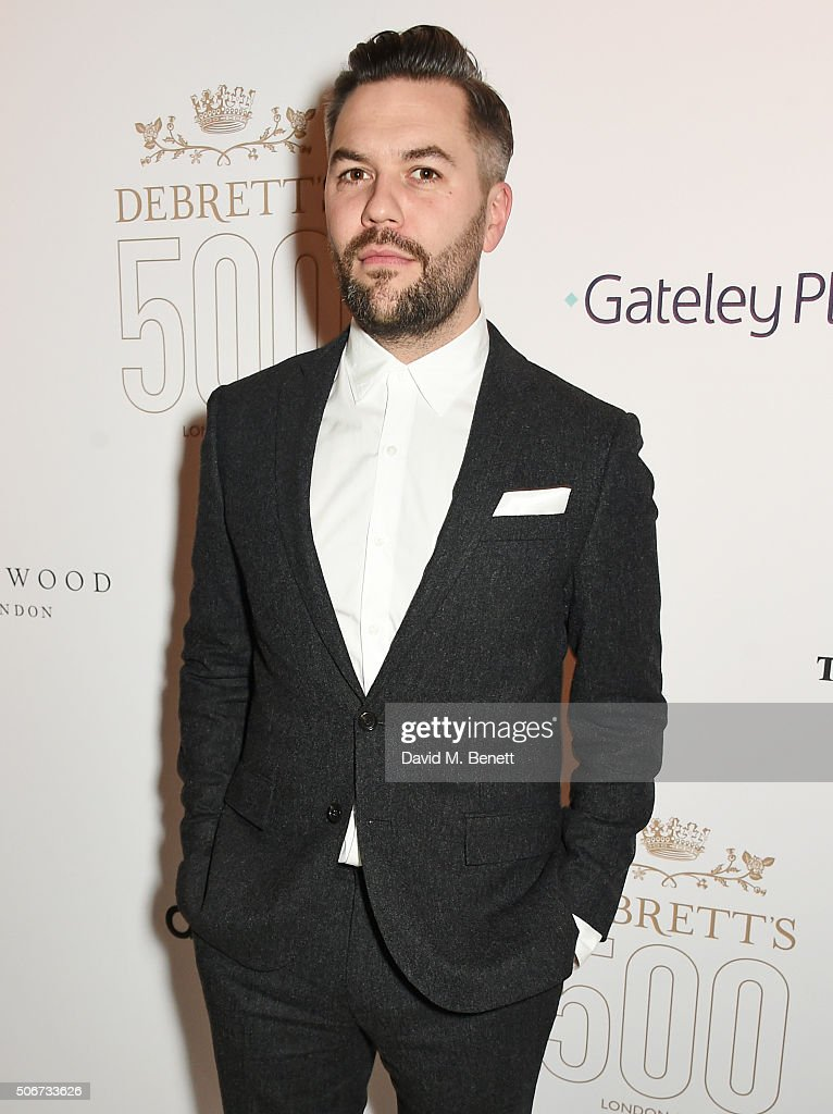 Nils Leonard attends Debrett's 500 party, hosted at Rosewood London, on January 25, 2016 in London, England. Debrett's 500 recognises the most influential people in Britain.