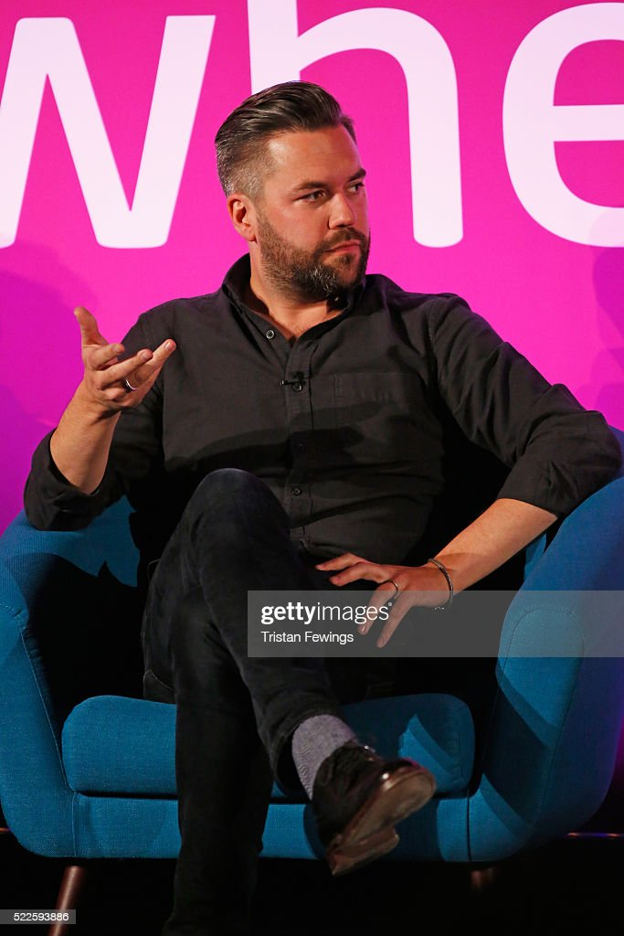 Nils Leonard, Chairman and Chief Creative Officer Grey London during ITV and Thinkbox Present: Creative Carousel part of Advertising Week Europe 2016 day 3 at Picturehouse Central on April 20, 2016 in London, England.