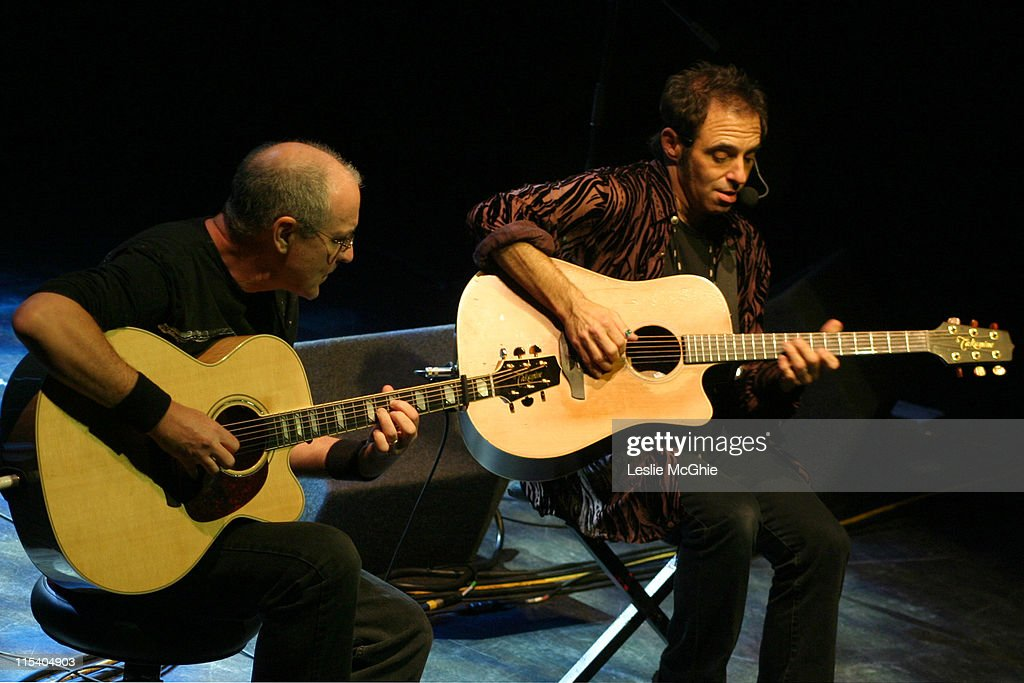 Nils Lofgren and guest during Nils Lofgren in Concert at Shepherd's Bush Empire in London - October 28, 2005 at Shepherd's Bush Empire in London, Great Britain.