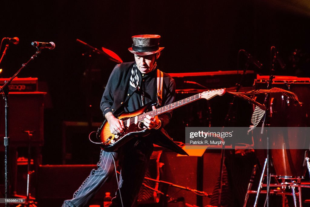 Nils Lofgren performs at the 18th annual Music Masters series honoring The Rolling Stones at the State Theatre on October 26, 2013 in Cleveland, Ohio.