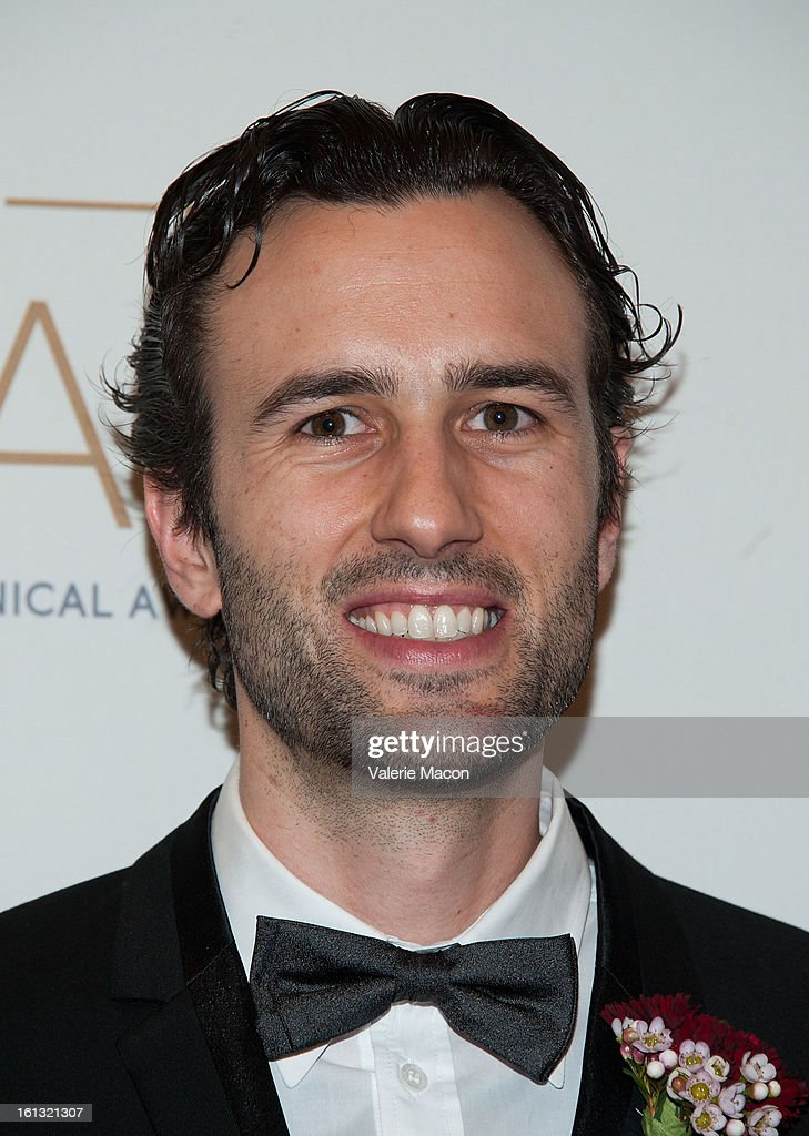 Nils Thuerey arrives at the Academy Of Motion Picture Arts And Sciences' Scientific & Technical Awards at Beverly Hills Hotel on February 9, 2013 in Beverly Hills, California.