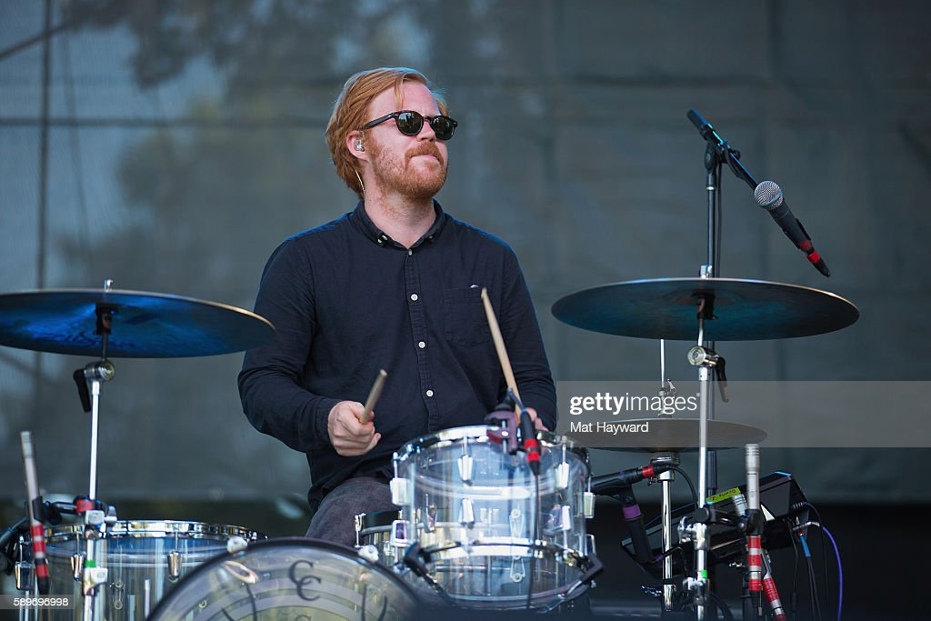 Nils Tomqvist of Miike Snow performs on stage during the Summer Camp Music Festival hosted by 1077 The End at Marymoor Park on August 13 2016 in...