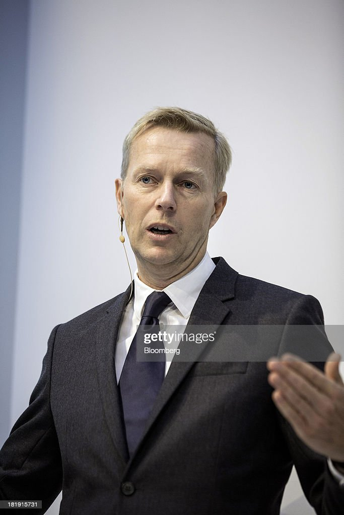 Hennes & Mauritz AB Earnings News Conference With Chief Executive Officer Karl-Johan Persson ...