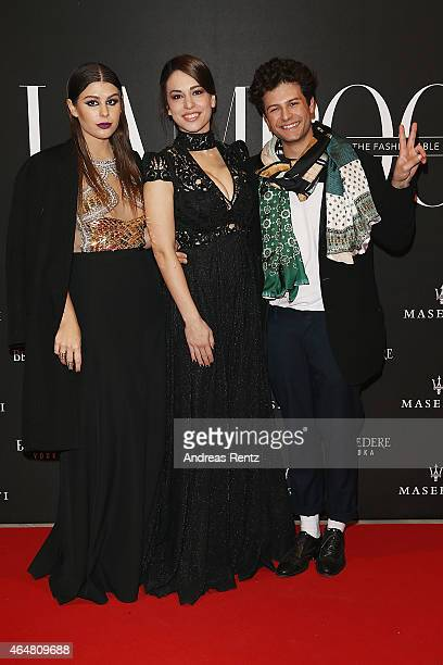 Nima Benati and guests attend the 'The Misia Ball' Lampoon Launch Party during the Milan Fashion Week Autumn/Winter 2015 on February 28 2015 in Milan...