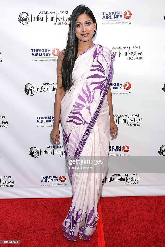 Nimmi Harasgama attends the Indian Film Festival Of Los Angeles (IFFLA) Opening Night Gala For 'Gangs Of Wasseypur' on April 9, 2013 in Hollywood, California.