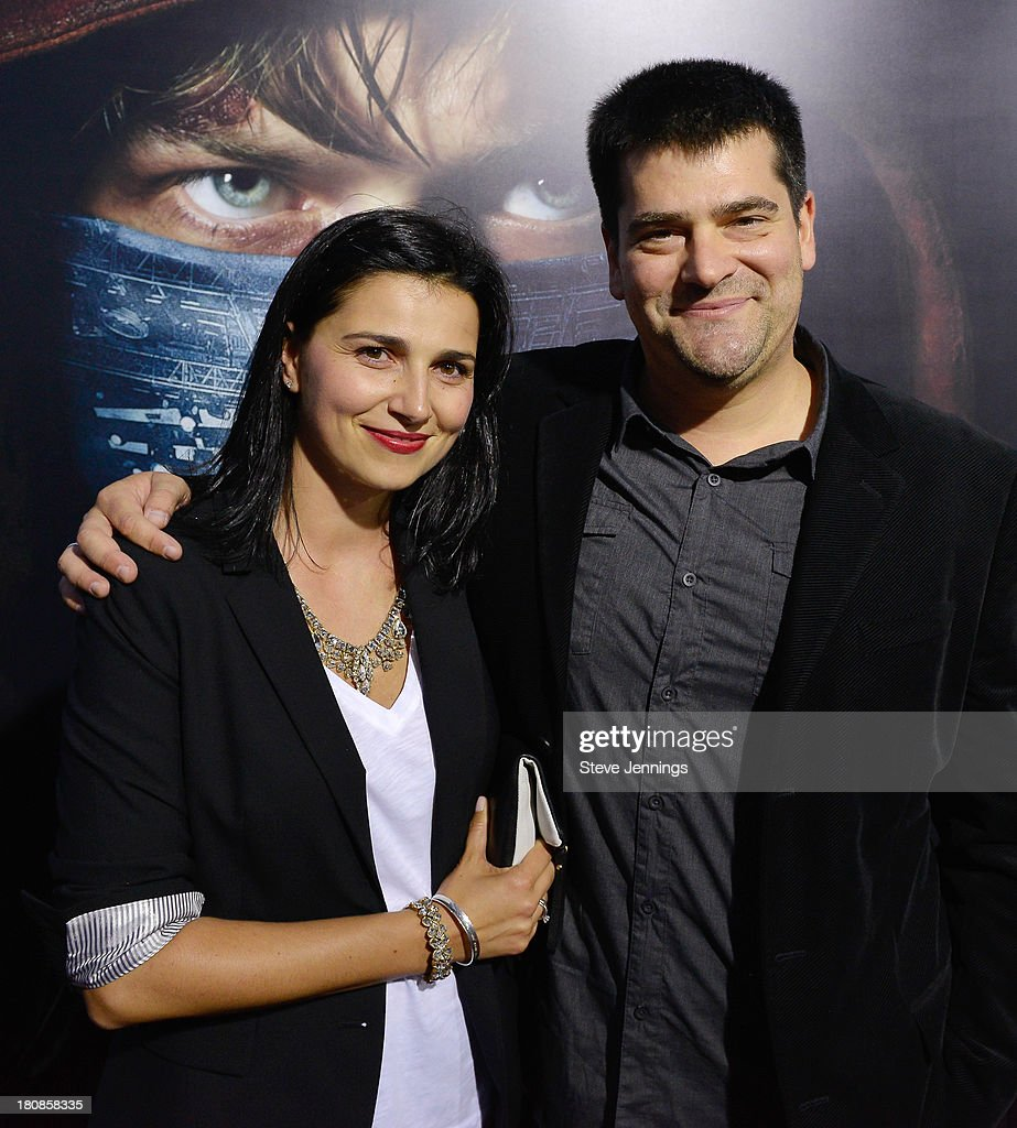 Nimrod Antal and guest attend the San Francisco Premiere of 'Metallica Throught The Never' at AMC Metreon 16 on September 16 2013 in San Francisco...