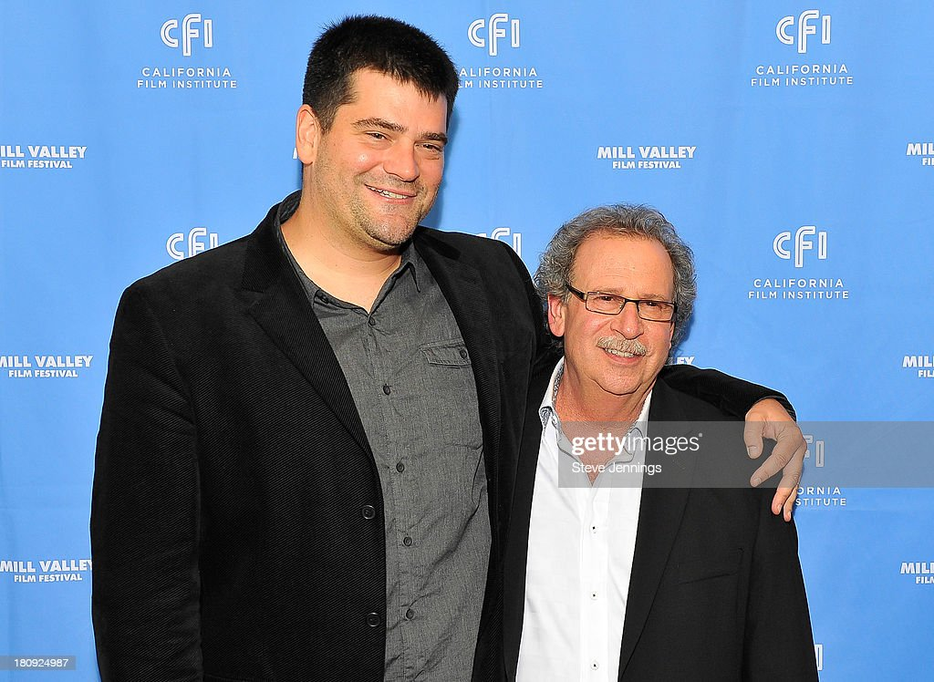 Nimrod Antal and Mark Fishkin attend the 'Metallica Through The Never' U.S. Public Premiere and Special Advance 36th Annual Mill Valley Film Festival Kick-Off Event at Christopher B. Smith Rafael Film Center on September 17, 2013 in San Rafael, California.