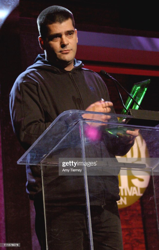 Nimrod Antal recipient of the United States Comedy Arts Festival's Perrier 'Bubbling Up Under' Award in the Film Discovery Program