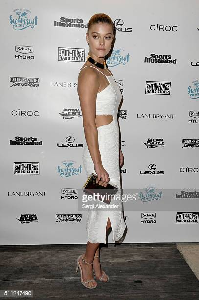Nina Agdal attends A Night at Sea VIP Boat Cruise sponsored by Sports Illustrated Swimsuit 2016 Yacht Cruise on February 18 2016 in Miami City
