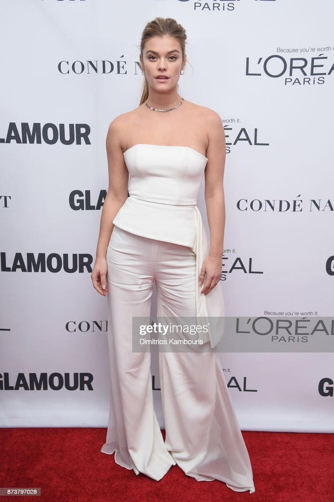 Nina Agdal attends Glamour's 2017 Women of The Year Awards at Kings Theatre on November 13, 2017 in Brooklyn, New York.