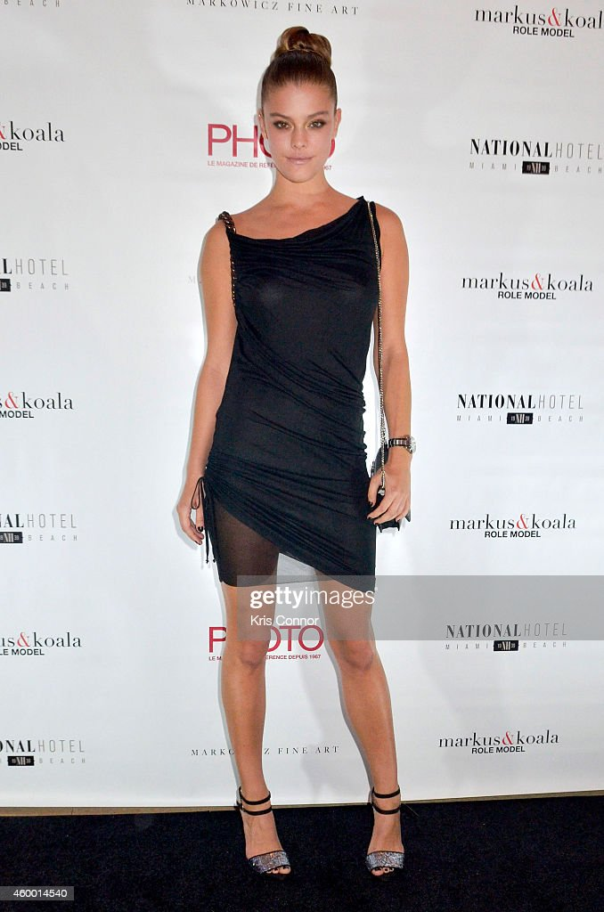 Nina Agdal attends Photo Magazine VIP reception at National Hotel on December 5 2014 in Miami Beach Florida