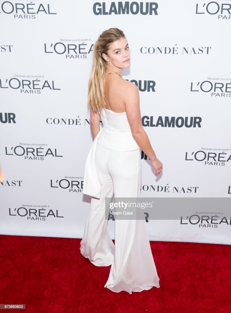 Nina Agdal attends the 2017 Glamour Women of The Year Awards at Kings Theatre on November 13, 2017 in New York City.