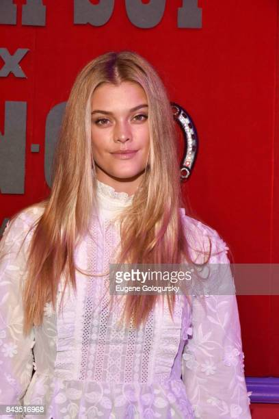 Nina Agdal attends the Anna Sui x INC International Concepts Launch Party at Heath at the McKittrick Hotel on September 6 2017 in New York City