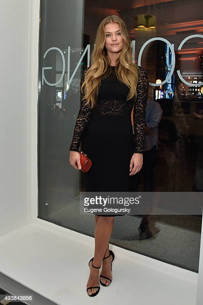 Nina Agdal attends the unveiling of RH Modern at RH New York The Gallery in the Historic Flatiron District on October 22 2015 in New York City