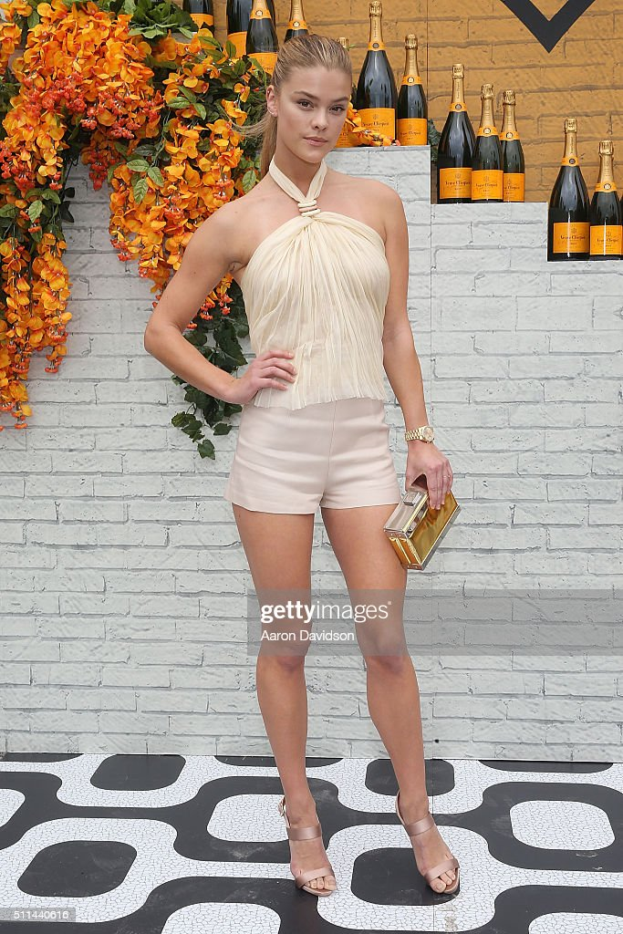 Nina Agdal attends Veuve Clicquot Hosts SecondAnnual Clicquot Carnaval in Miami at Museum Park on February 20 2016 in Miami Florida