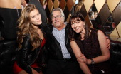 Nina Agdal Micky Arison and Madeleine Arison attend Spring Fling at Wall at W Hotel on March 13 2014 in Miami Beach Florida