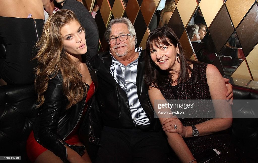 Nina Agdal, Micky Arison and Madeleine Arison attend Spring Fling at Wall at W Hotel on March 13, 2014 in Miami Beach, Florida.