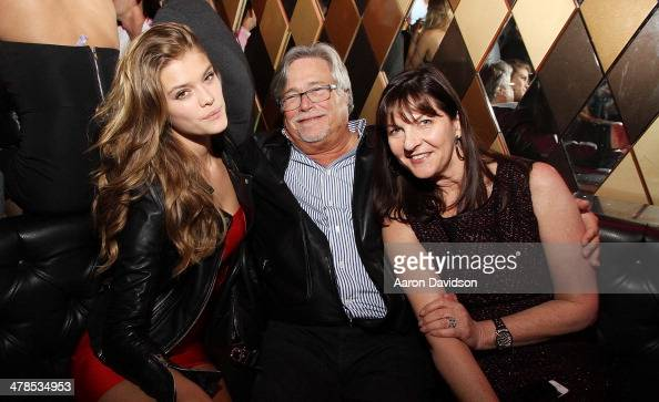Nina Agdal Micky Arison and Madeleine Arison' attend Spring Fling at Wall at W Hotel on March 13 2014 in Miami Beach Florida