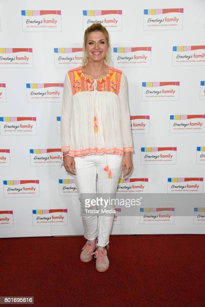 Nina Bott attends the Ernsting's Family Fashion Show at Stage Operettenhaus on June 26 2017 in Hamburg Germany