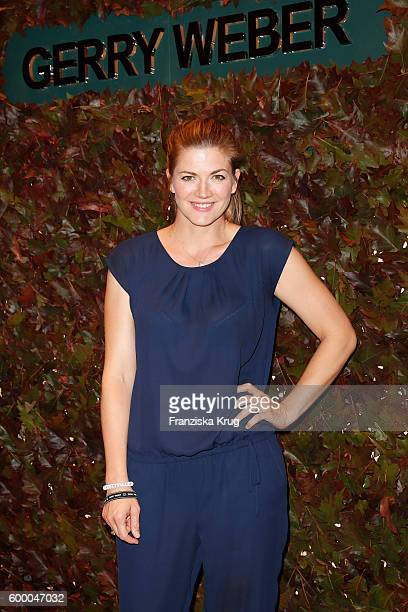 Nina Bott attends the Gerry Weber Store Opening on September 7 2016 in Hamburg Germany