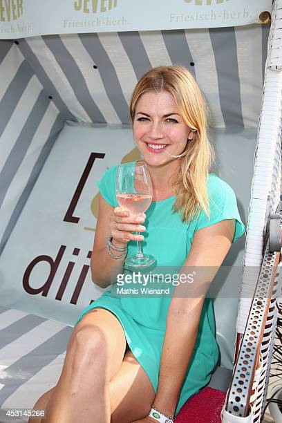 Nina Bott attends the Land Rover Public Chill 2014 at Beach Motel on August 3 2014 in St PeterOrding Germany