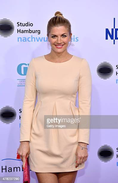 Nina Bott attends the Studio Hamburg Nachwuchspreis 2015 at Thalia Theater on June 23 2015 in Hamburg Germany