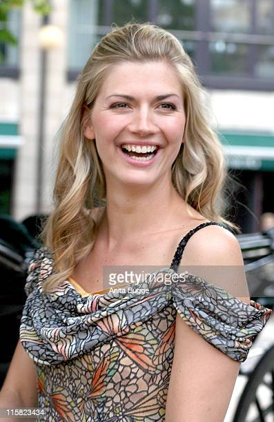 Nina Bott during Photocall for the Sat 1 TV Series 'Unter den Linden Das Haus Gravenhorst' with Nina Bott July 6 2006 in Berlin Germany