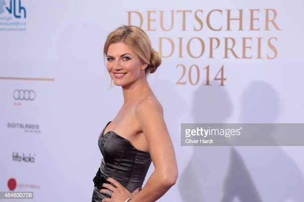 Nina Bott poses before the 'Deutscher Radiopreis 2014' on September 4 2014 in Hamburg Germany