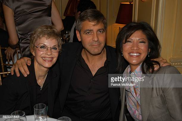 Nina Clooney George Clooney and Julie Chen attend Walter Cronkite Hosts a Private Screening of Warner Independent Pictures' 'Good Night And Good...